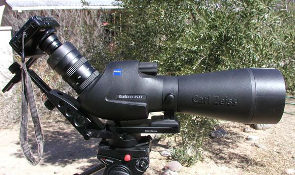 Post image for A Lesson on Digiscoping Techniques – the Zeiss Diascope