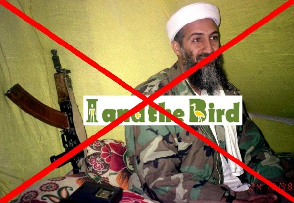 osama bin laden turban. in laden no turban there is.