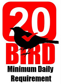 20 Bird Minimum requirement