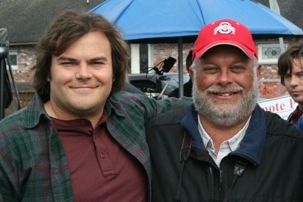 Greg Miller and Jack Black. The big year. The original and the copy. Photo: Greg Miller