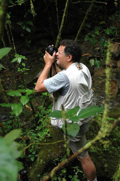 Luis Vargas in Action, Costa Rica