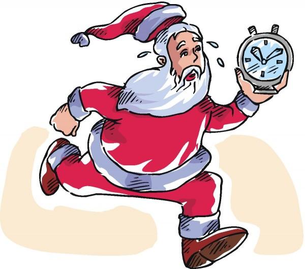 Hurry Santa