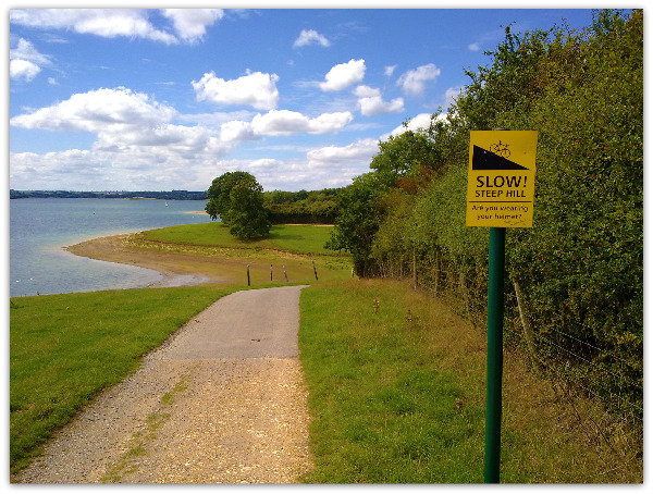 Run on Hambleton Peninsula by Joanna Sayers